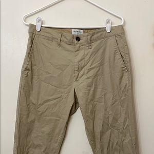 Goodfellow & Co Khaki Beige Chino Pants